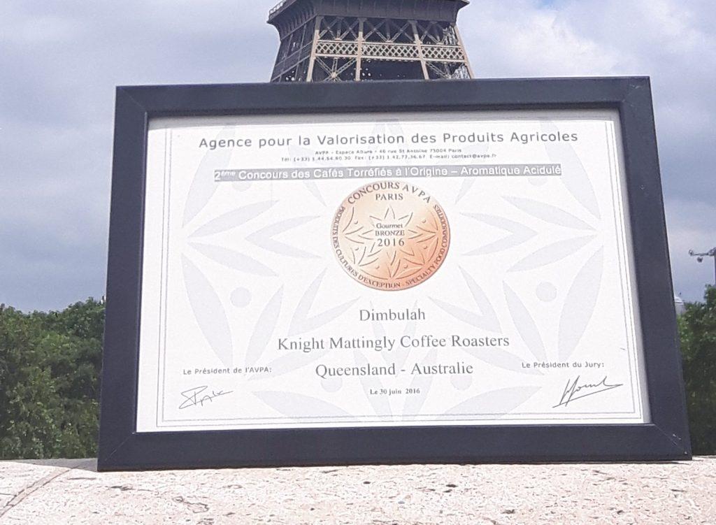 Reward in Paris